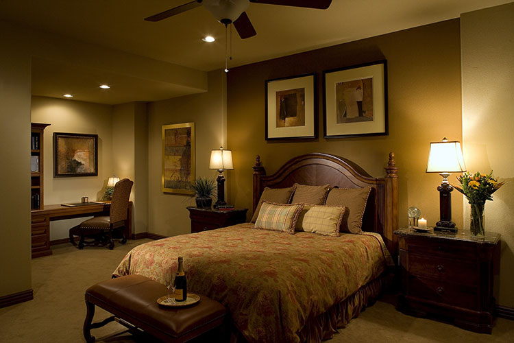Comfortable night's rest in a one of two master suites