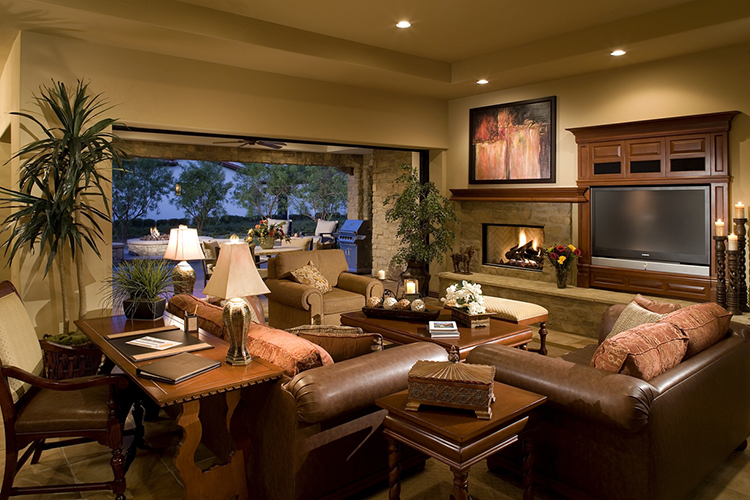 All fractional homes have the same floor plan, furnishings and décor